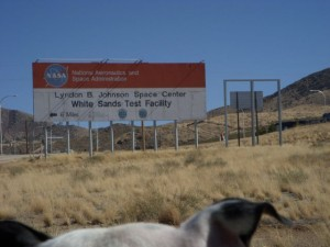 Just outside Las Cruces....