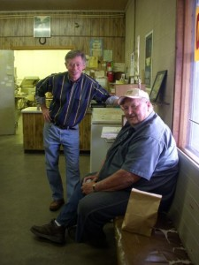 Allan and Eddie Griffith, keeping old foodways alive.
