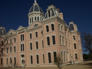 This confection of a courthouse graces the central square.