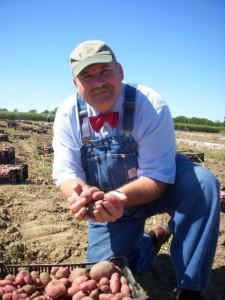 Farmer Lee Jones, of Huron, Ohio and The World.